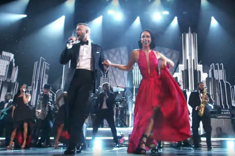 Justin Timberlake - CAN'T STOP THE FEELING! (Live, Oscar 2017)