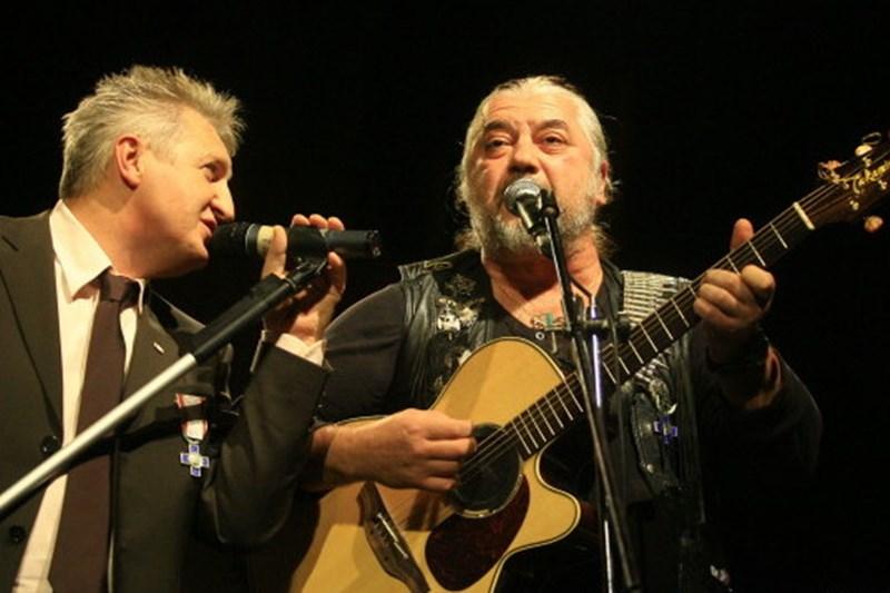 Moni Bordeianu și Nicu Covaci
