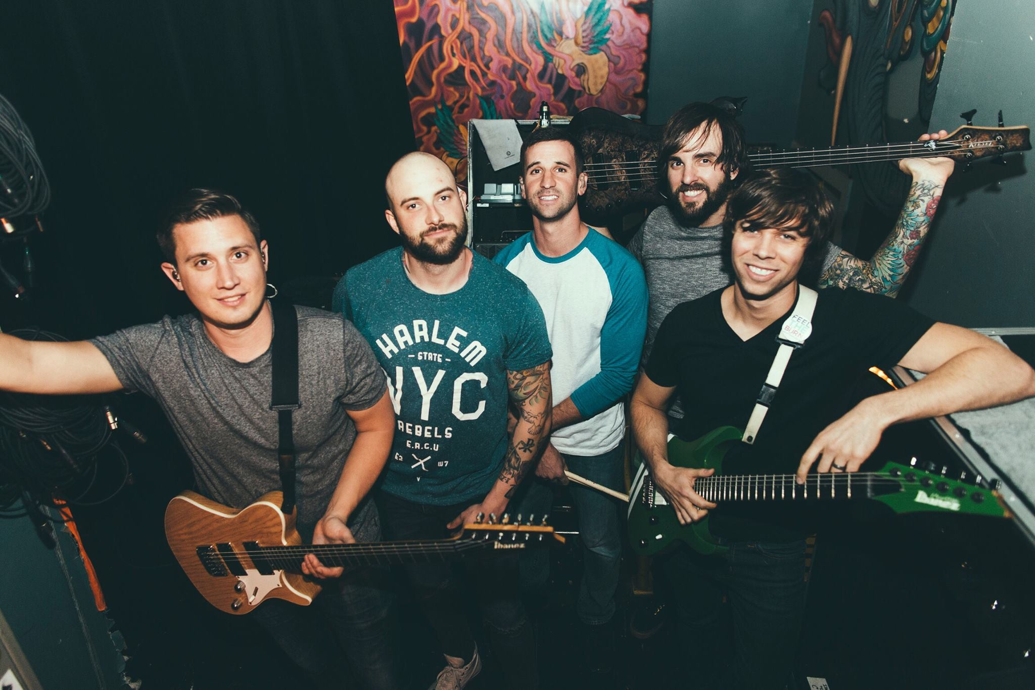 August Burns Red poza grup
