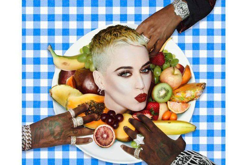 """Katy Perry (artwork """"Bon Appétit"""")"""