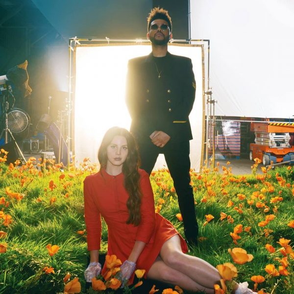 Lana Del Rey feat The Weeknd Lust for Life coperta single