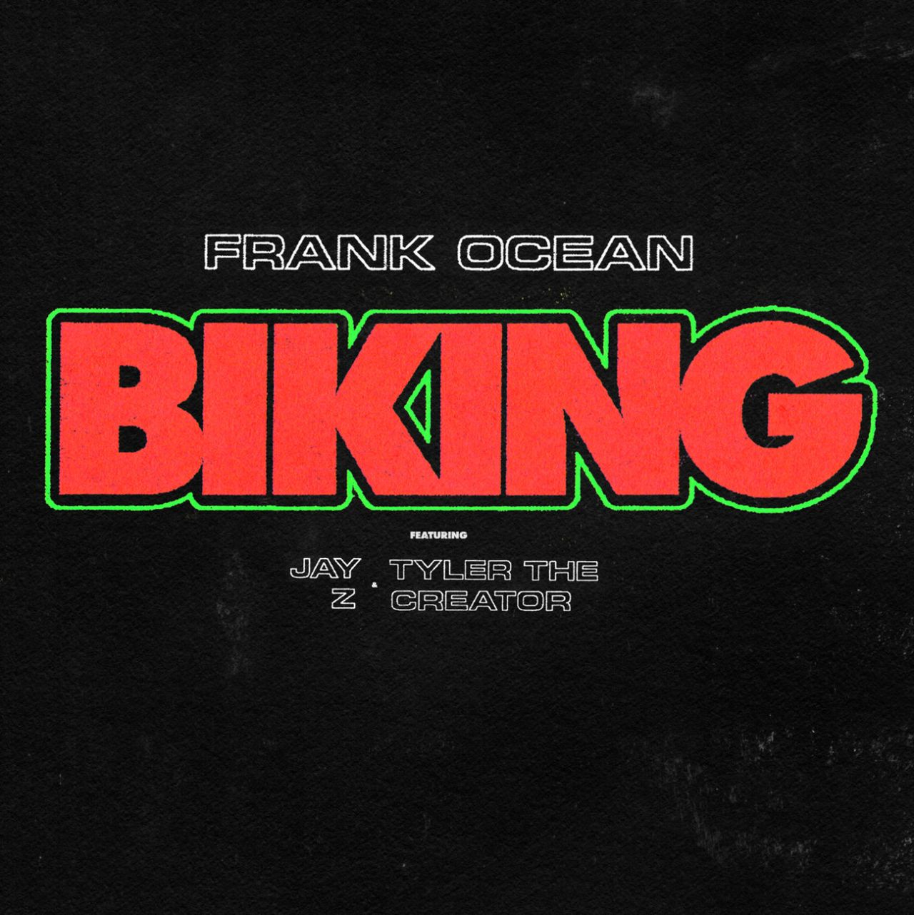 Single Frank Ocean Tyler the Creator Jay Z Biking