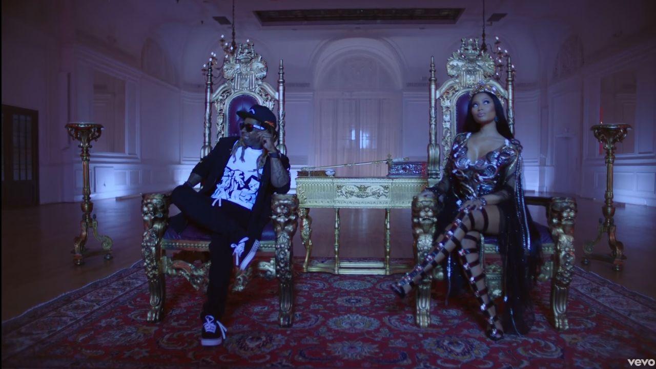 Videoclip Nicki Minaj Lil Wayne Drake No Frauds