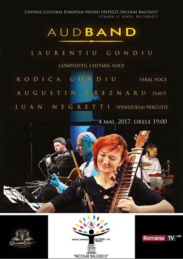 Aud Band - The Sound Of Emotion la Centrul Cultural European pentru UNESCO Nicolae Balcescu