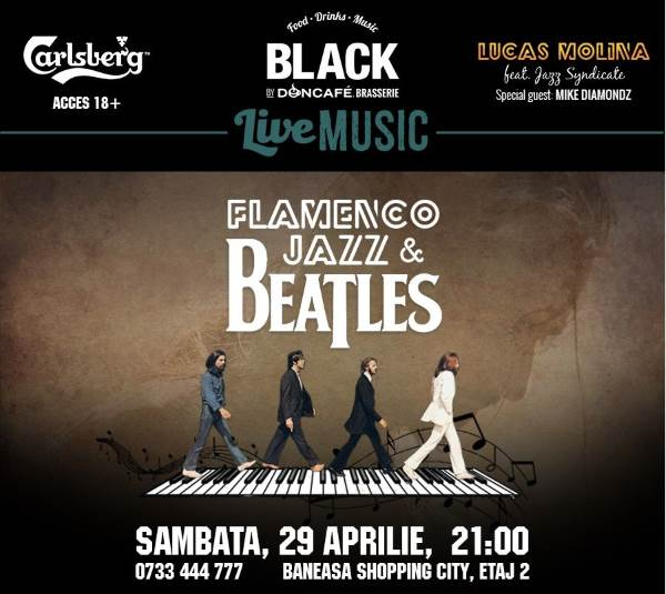 Beatles Flamenco Jazz - ANULAT la Black By Doncafe Brasserie