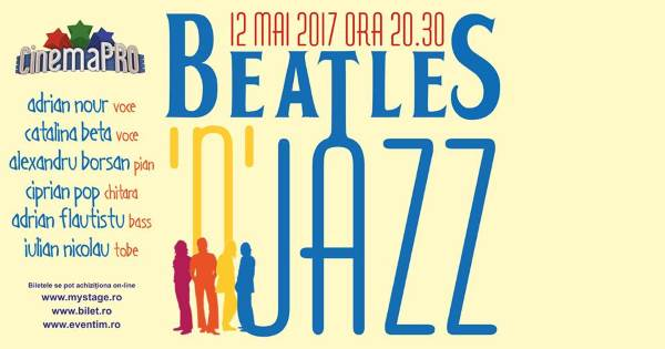 Beatles'n'Jazz la CinemaPro