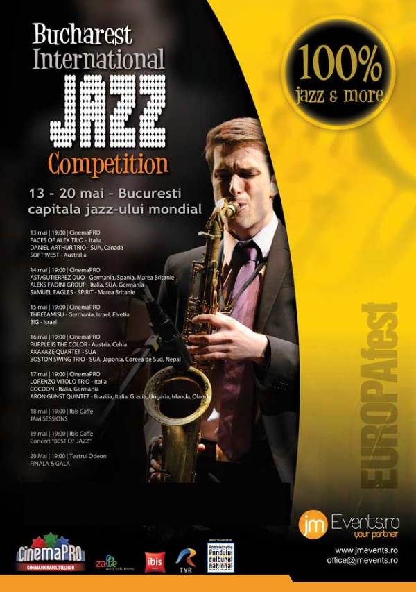 Bucharest International Jazz Competition la CinemaPro