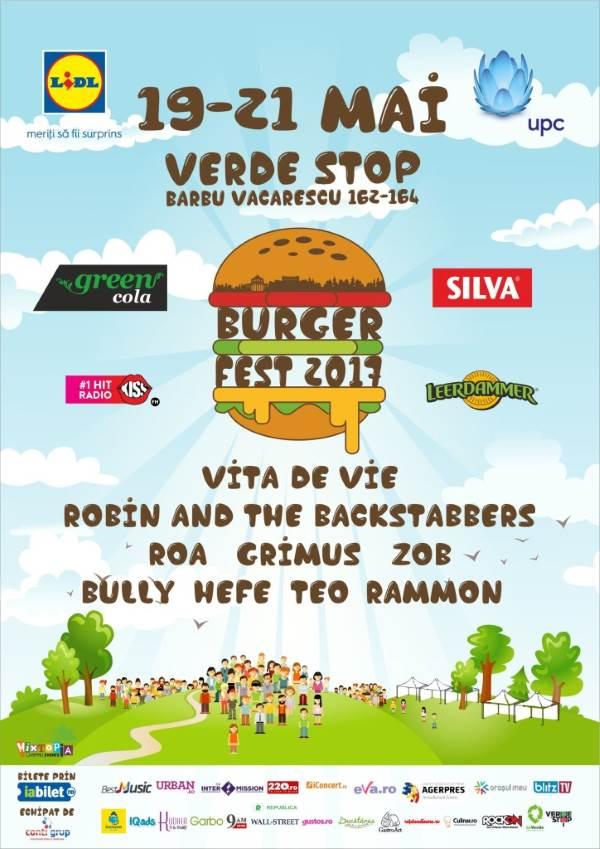 BURGERFEST 2017 la Verde Stop