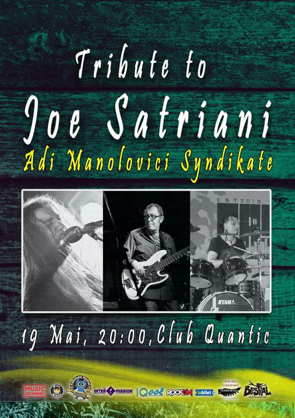 Joe Satriani - Tribute la Quantic Club