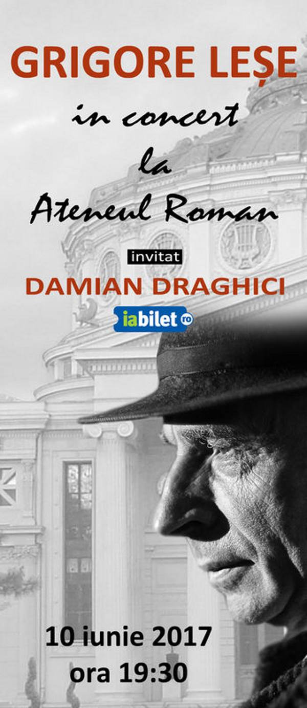 Grigore Leșe la Ateneul Român
