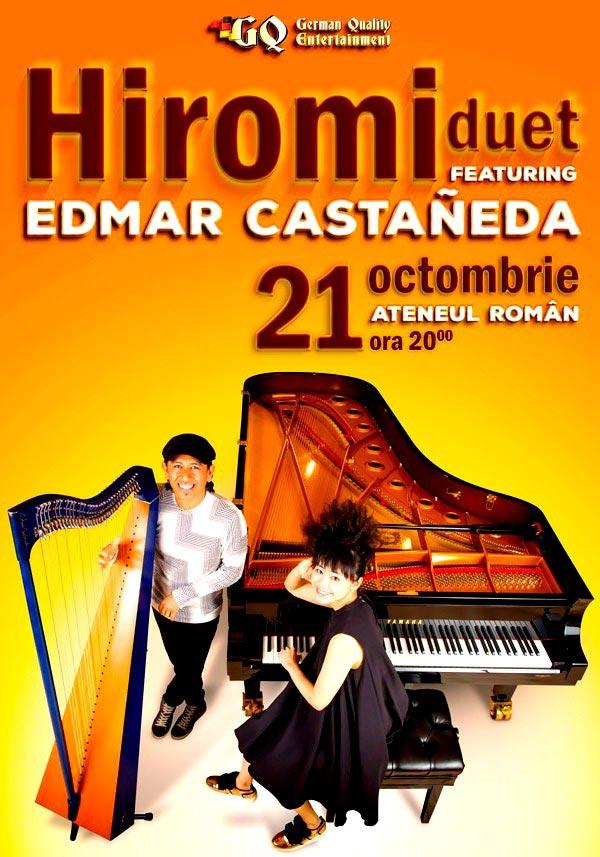 Hiromi feat. Edmar Castañeda la Ateneul Român