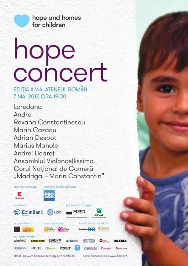 Hope Concert la Ateneul Român