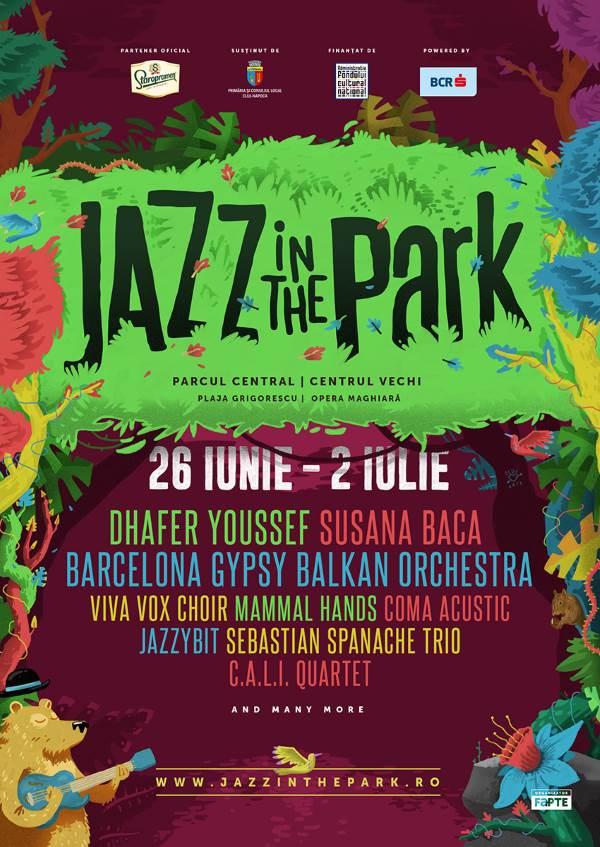 Jazz in the Park 2017 la Parcul Central Cluj