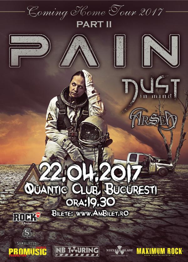 Pain la Quantic Club