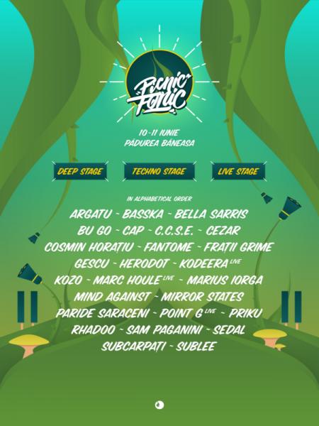 Poster eveniment Picnic Fonic Festival