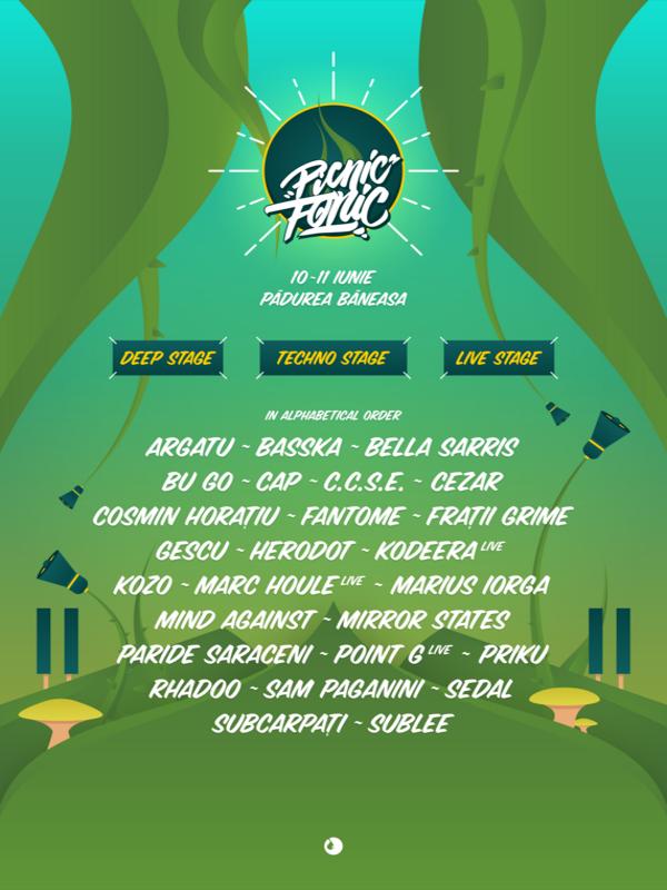 Picnic Fonic Festival la Federația Română de Tir Sportiv - Pădurea Băneasa