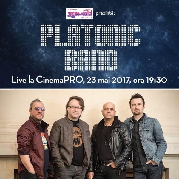 Platonic Band la CinemaPro