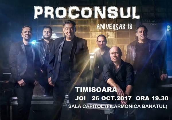 Proconsul - ANULAT la Filarmonica Banatul din Timișoara