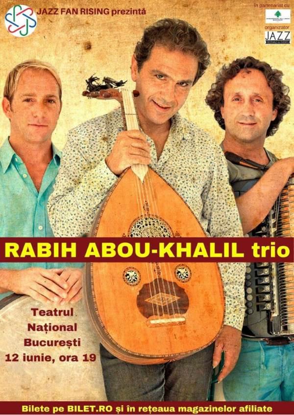 Rabih Abou-Khalil trio la Teatrul Naţional București
