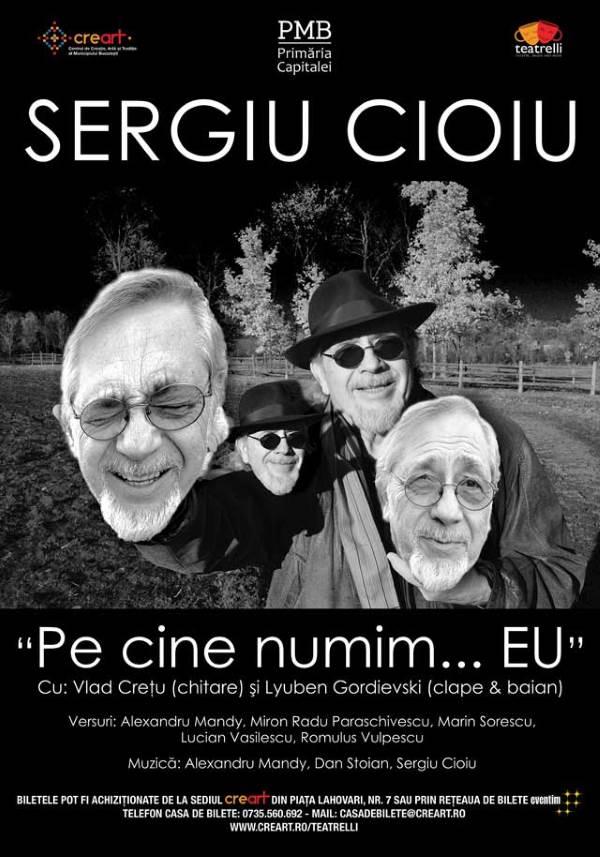 Sergiu Cioiu la teatrelli - theatre, music & more