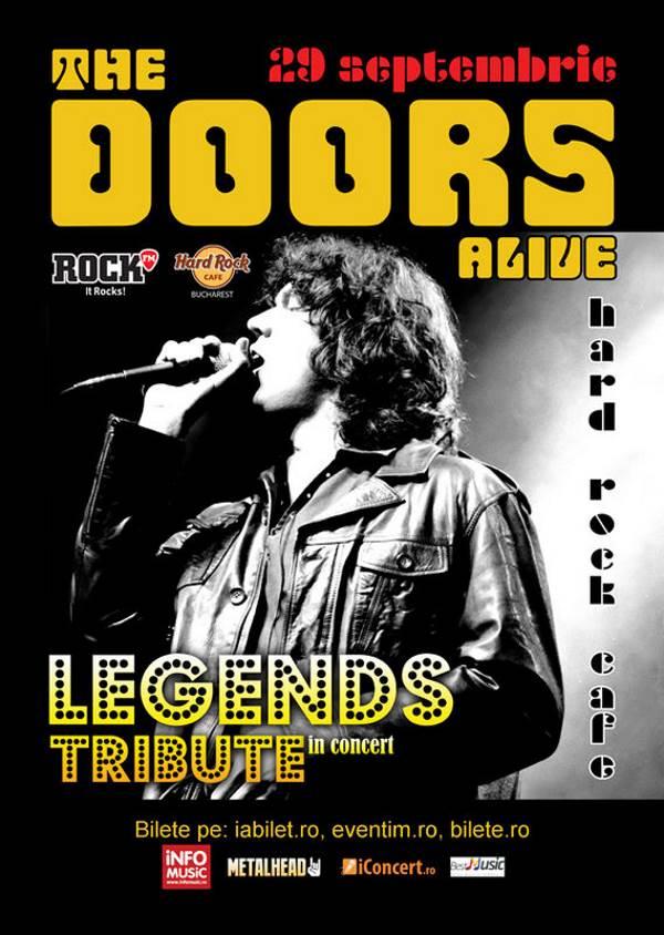 The Doors Alive la Hard Rock Cafe