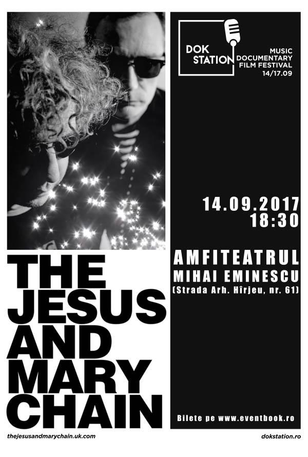 The Jesus and Mary Chain la Centrul Cultural Mihai Eminescu