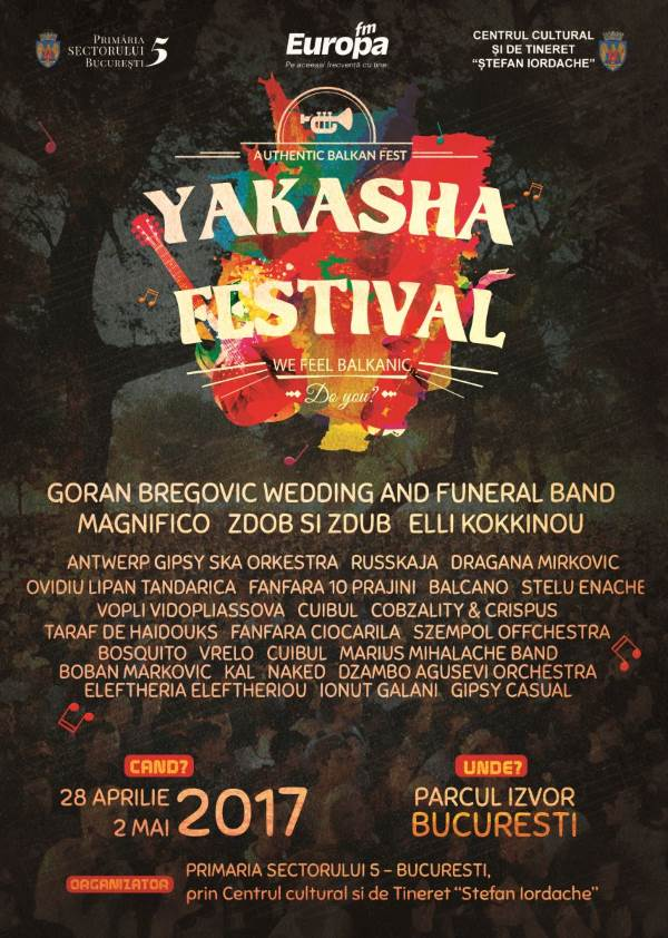 Yakasha Festival 2017 la Parcul Izvor