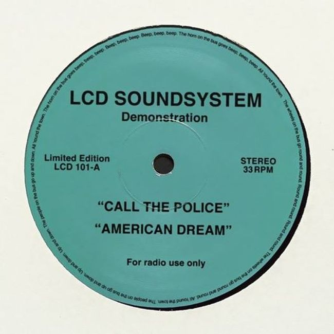 Disc LCD Soundsystem American Dream Call the Police