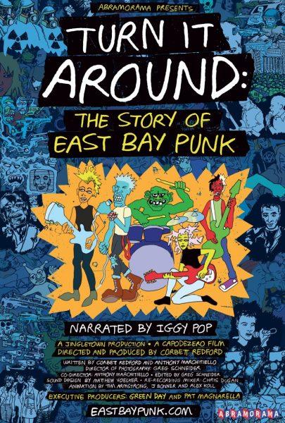 Poster Documentar Green Day Turn It Around