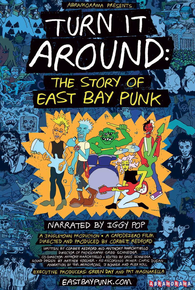 Poster Documentar Green Day Turn It Around