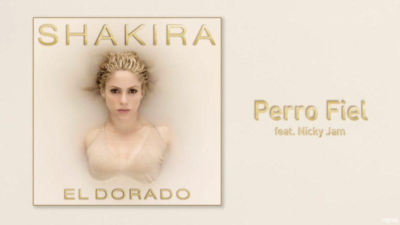 Single Shakira Nicky Jam Perro Fiel