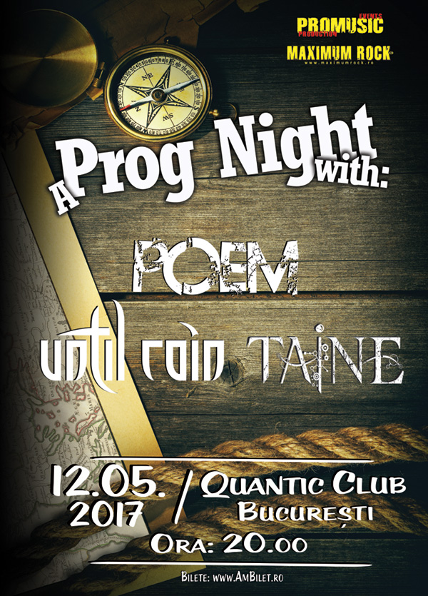 A Prog Night with Poem / Until Rain / Taine