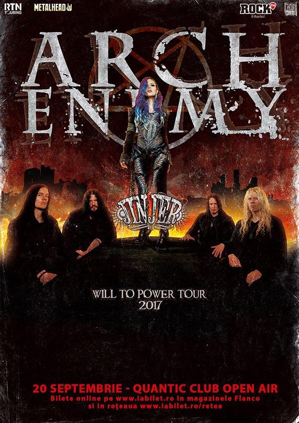 ARCH ENEMY | Jinjer la Quantic Club