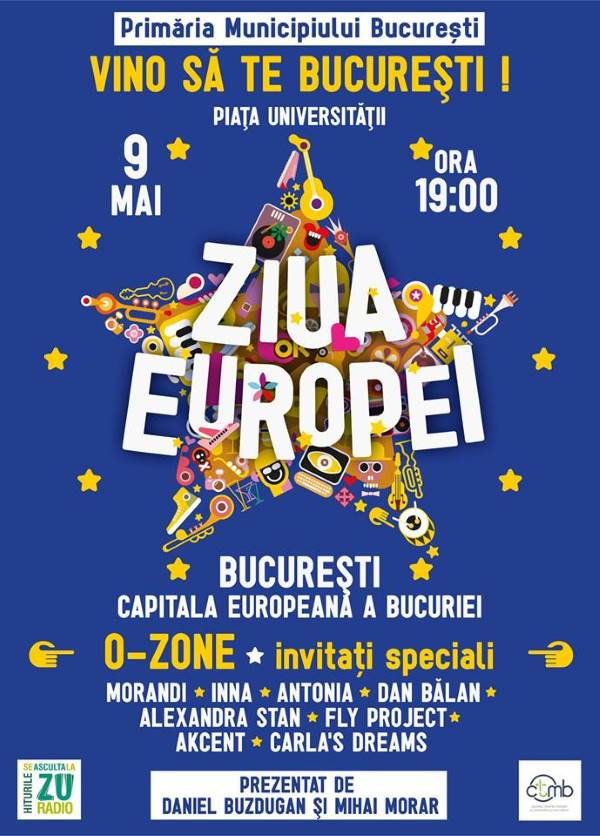 Ziua Europei la Piața Universității