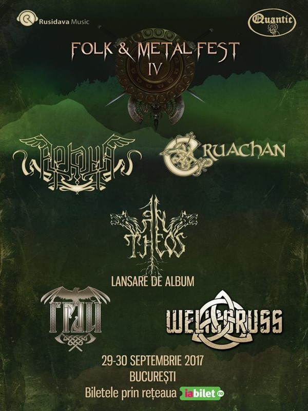 Folk & Metal Fest IV la Quantic Club
