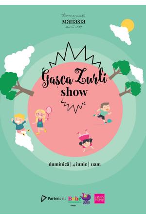 Gașca Zurli Show la Domeniul Manasia