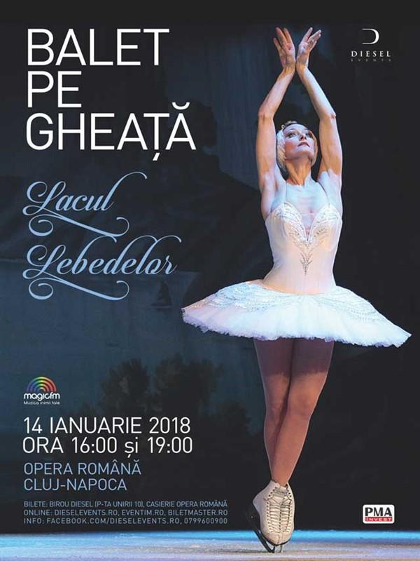 Lacul Lebedelor - Balet pe gheaţă la Opera Națională Română Cluj-Napoca