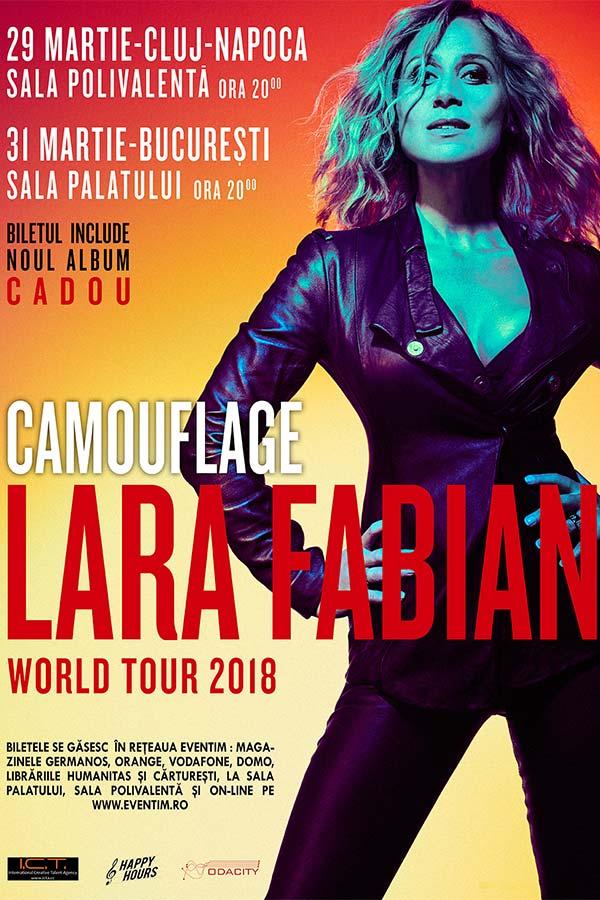 Lara Fabian - Camouflage la Sala Palatului