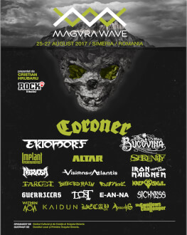 Măgura Wave Fest 2017 la Măgura Uroiului