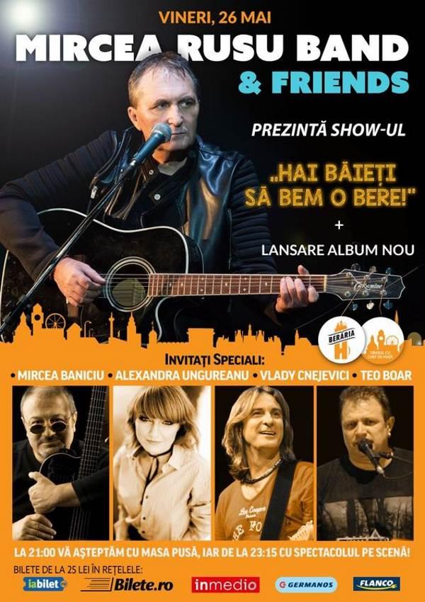 Mircea Rusu Band la Berăria H