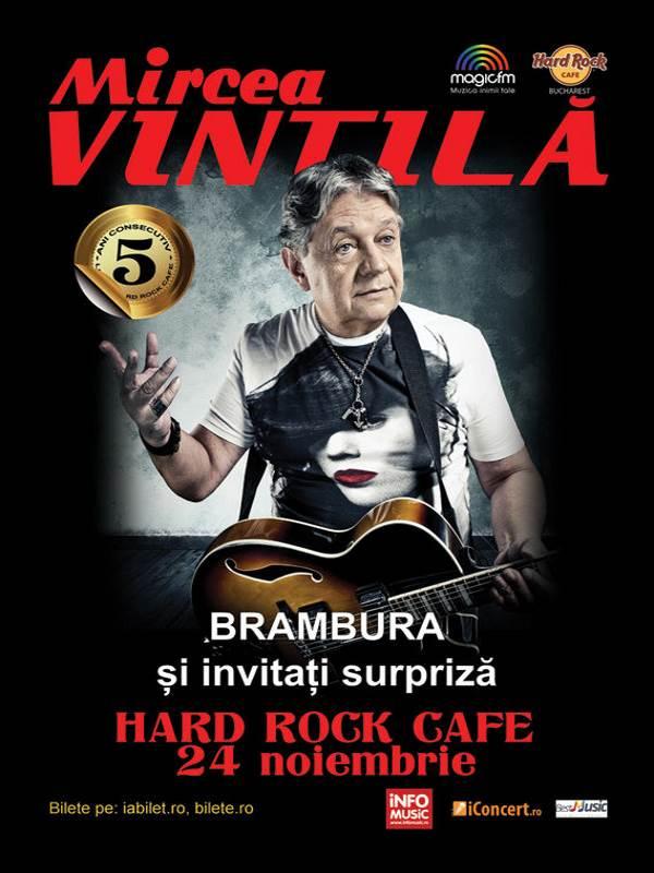 Mircea Vintilă la Hard Rock Cafe