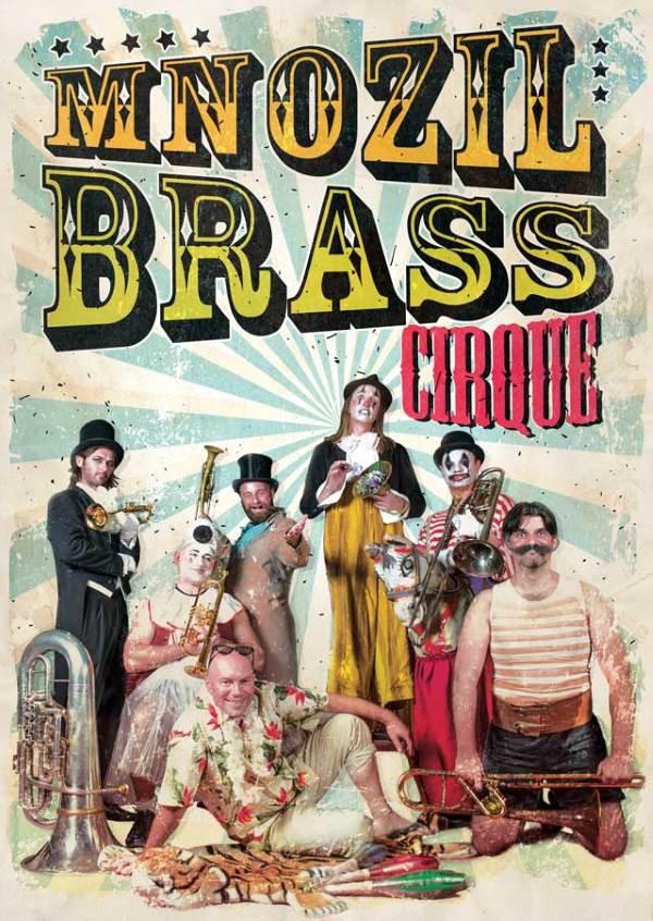 Mnozil Brass la Circ & Variete Globus
