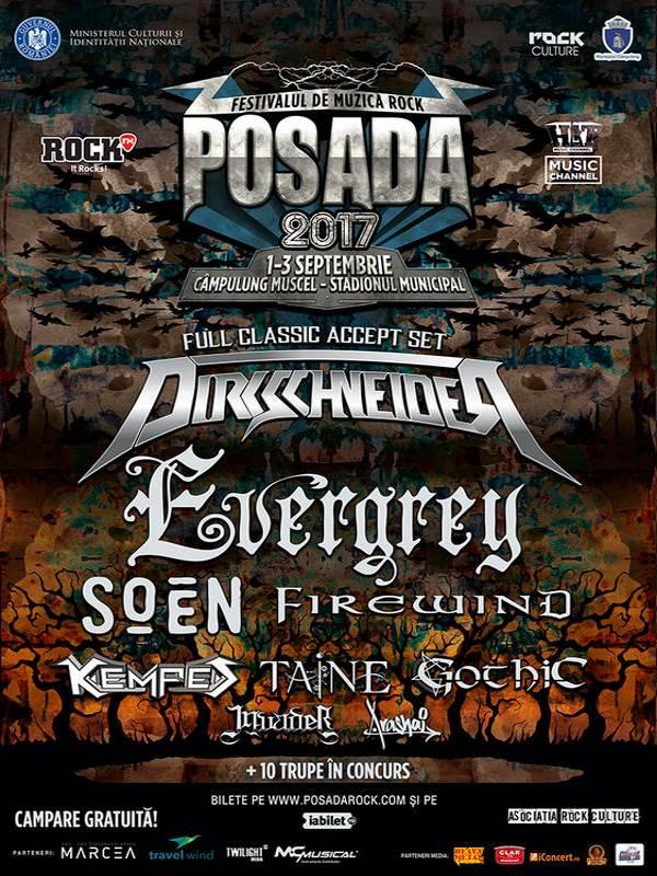 Posada Rock 2017 la Campulung Muscel