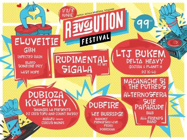Revolution Festival 2017 la Muzeul Satului Bănățean