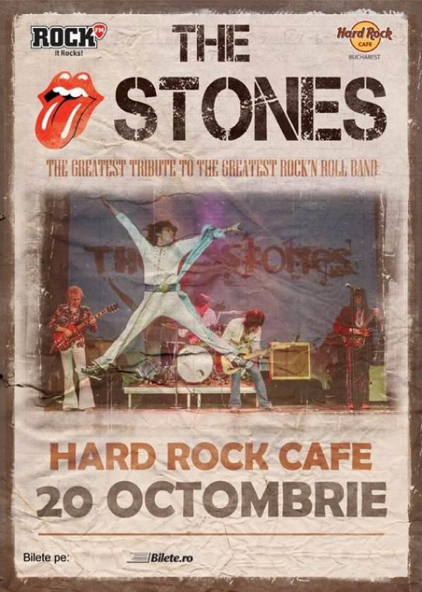 The Stones la Hard Rock Cafe