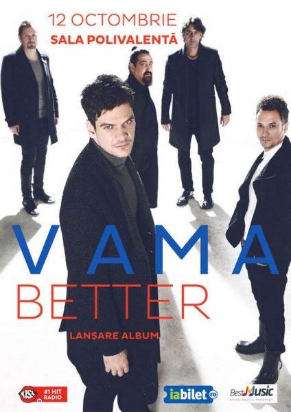 Poster eveniment Vama - lansare de album