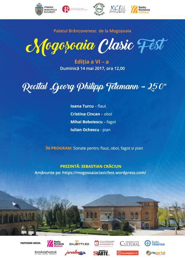 Mogoșoaia ClasicFest la Palatul Mogoșoaia