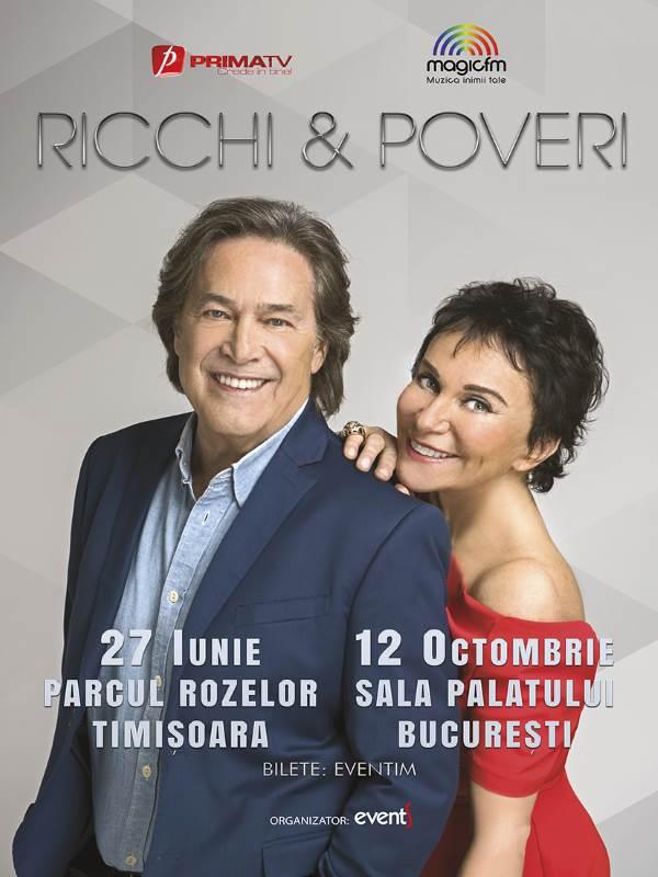 Ricchi e Poveri la Parcul Rozelor Timișoara