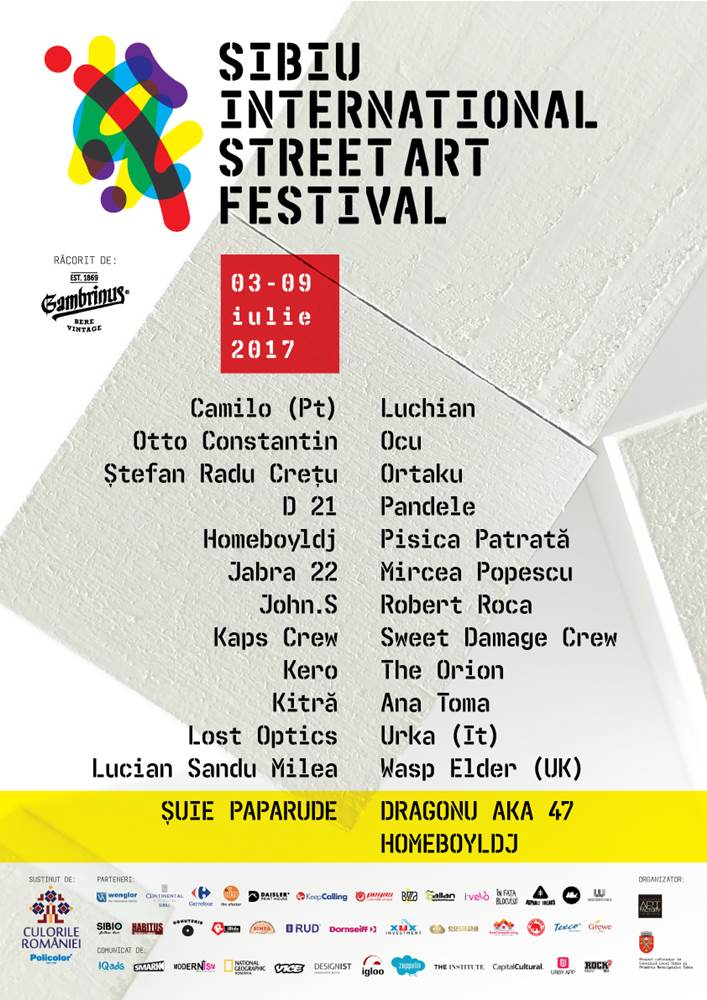 Sibiu International Street ART Festival 2017 la