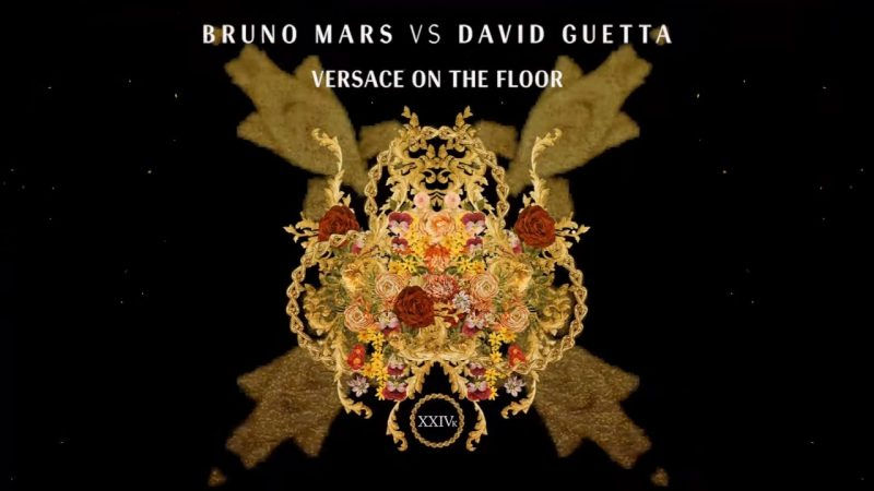 David Guetta Bruno Mars Versace on the Floor remix